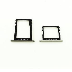 Repuestos de Bandejas para Tarjeta SIM y SD de Huawei P8 - Negro