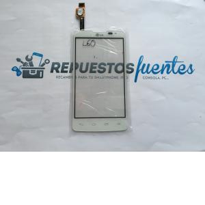 Repuesto Pantalla Tactil Original LG L60 Dual X147 Blanca