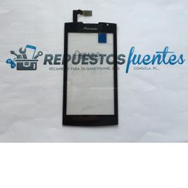 Repuesto Pantalla Tactil para Prestigio / Pioneer MultiPhone 4500 - Negro