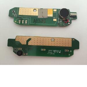 Repuesto Flex Vibrador + Microfono + Antena para BQ 5 HD - Remanufacturado