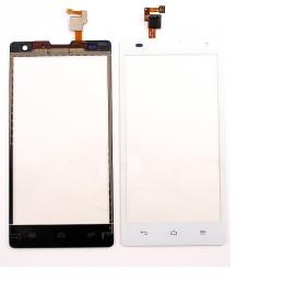 Pantalla Tactil para Huawei G740, Orange Yumo y Honor 3C - Blanca