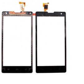Pantalla Tactil para Huawei G740, Orange Yumo y Honor 3C - Negra