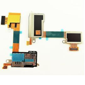 Flex Lector sim y SD Sony Xperia M2 Aqua D2403 D2406 Remanufacturado