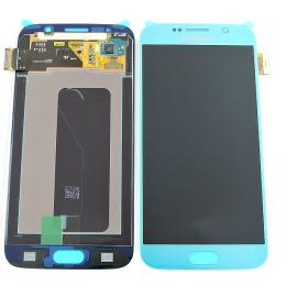 Pantalla LCD Display + Tactil Original para Samsung Galaxy S6 i9600 SM-G920 - Azul Metalico