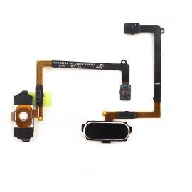 Flex Boton Home Menu Samsung Galaxy S6 i9600 SM-G920 Negro