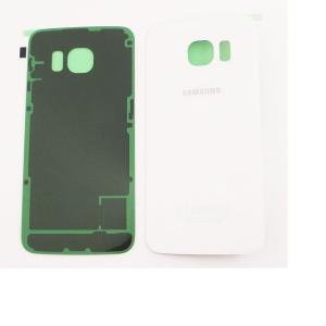 Carcasa Tapa Trasera de Bateria para Samsung Galaxy S6 Edge SM-G925 - Blanca