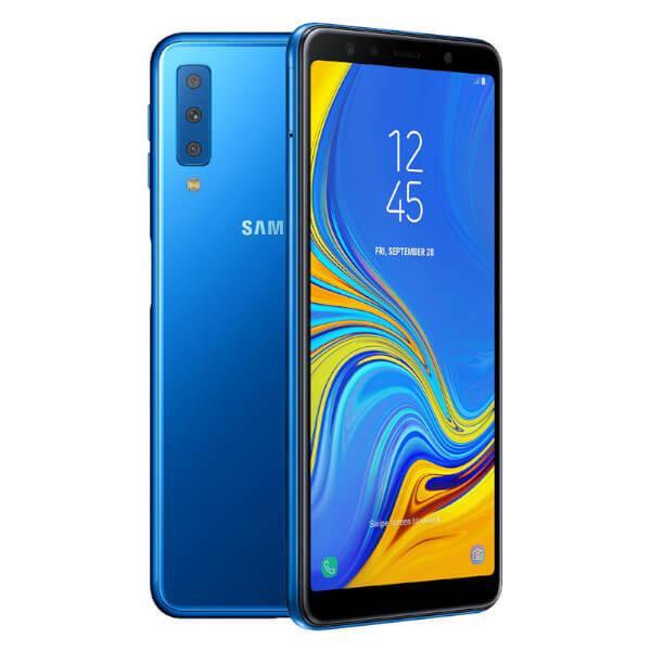 GALAXY A7 2018 SM-A750 64GB AZUL - MUY BUEN ESTADO