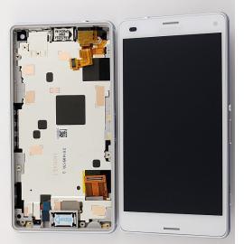 Pantalla Lcd + Tactil Sony Xperia Z3 Compact Mini M55W D5803 D5833 Blanca - Desmontaje