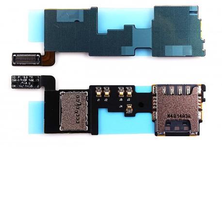 Repuesto Flex Lector SIM y SD para Samsung Galaxy Note 4 SM-N910
