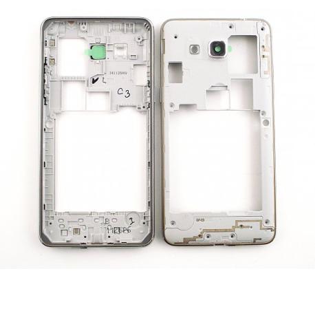 Carcasa Intermedia Dual SIM + Lente Original para Samsung Grand Prime  G530  (version para 2 SIM)