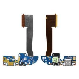 Flex de Conector de Carga Micro USB, Jack de Audio y Microfono para HTC One M8