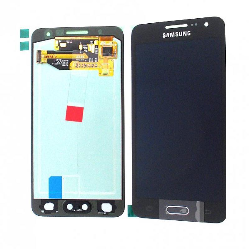 Pantalla Lcd + Tactil Original Samsung Galaxy A3 A300F SM-A300FU Negro - Recuperada
