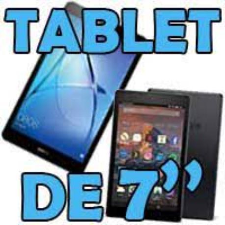 """LOTE DE 7 TABLET 7"""""""