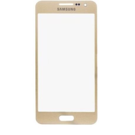 Cristal Ventana Gorilla Glass Oro Samsung Galaxy A3 A300F