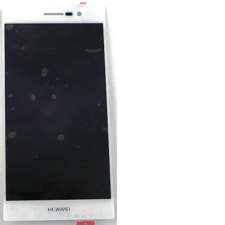 Pantalla LCD + Tactil para Huawei Ascend P7 Sophia - Blanca