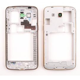 Carcasa Intermedia Con Lente de Camara Original Samsung Galaxy Grand 2 G7102 Dorada