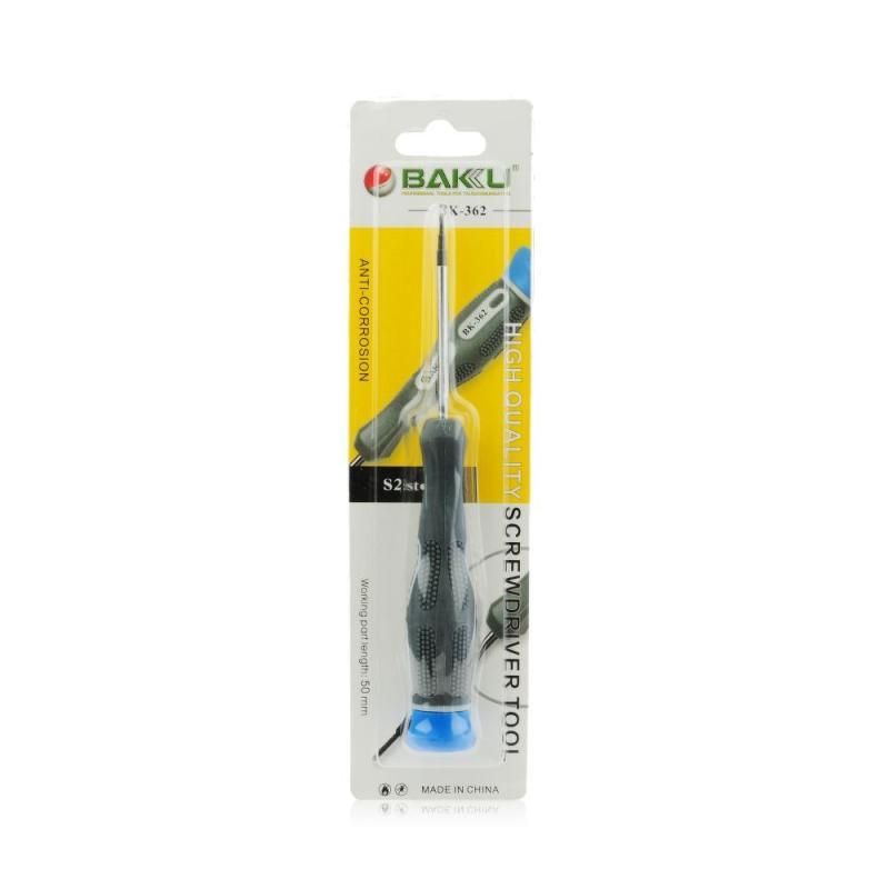 Destornillador Profesional Baku BK-362 - Estrella de 4 Puntas - 1.2*50mm