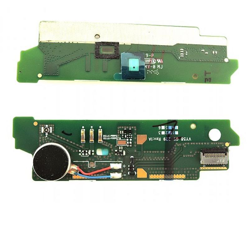 Modulo Vibrador y Microfono Original para Sony Xperia M2 Aqua D2403 D2406