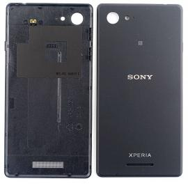 Carcasa Tapa Trasera de Bateria para Sony Xperia E3 D2203 D2206 D2243 - Negra / Desmontaje