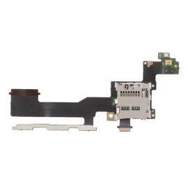 Repuesto Flex Lector Tarjeta SD, Microfono y Botones de Volumen para HTC One M9