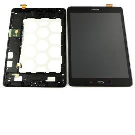 Pantalla Lcd + Tactil con Marco Original Samsung Galaxy Tab A WiFi SM-T550 / Galaxy Tab A 4G T555 - Negra