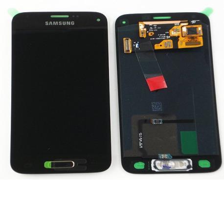 Pantalla Lcd + Tactil Original Samsung Galaxy S5 Mini SM-G800F Oro Dorada LIQUIDACION