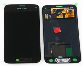 Pantalla Lcd + Tactil Original Samsung Galaxy S5 Mini SM-G800F Oro Dorada