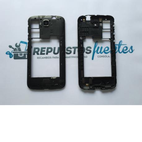 Carcasa Intermedia Alcatel Touch Pop C7 OT 7040 7041x Negra - Recuperada