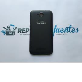 Carcasa Tapa Trasera Alcatel Touch Pop C7 OT 7040 7041x Negra - Recuperada