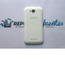 Carcasa Tapa Trasera Alcatel Touch Pop C7 OT 7040 7041x Blanca - Recuperada