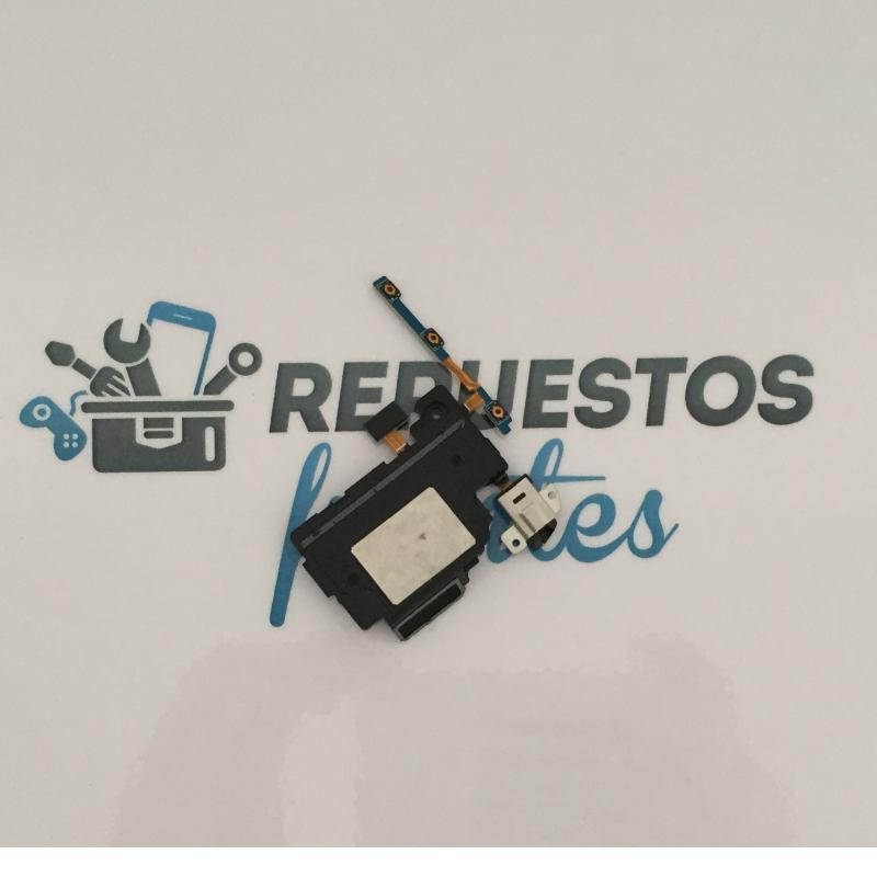 Modulo Altavoz Izquierdo, Jack de Audio y Flex Botones Encendido + Volumen para Samsung Note 10.1 P605 Tablet 4