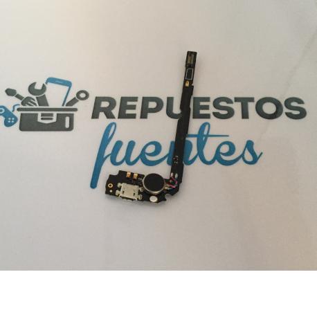 Flex Conector de Carga Micro USB, Antena y Vibrador para Huawei Mate 2