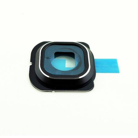 Repuesto de Embellecedor de Camara para Samsung Galaxy S6 Edge SM-G925 - Negra