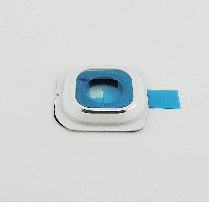 Repuesto de Embellecedor de Camara para Samsung Galaxy S6 Edge SM-G925 - Blanco