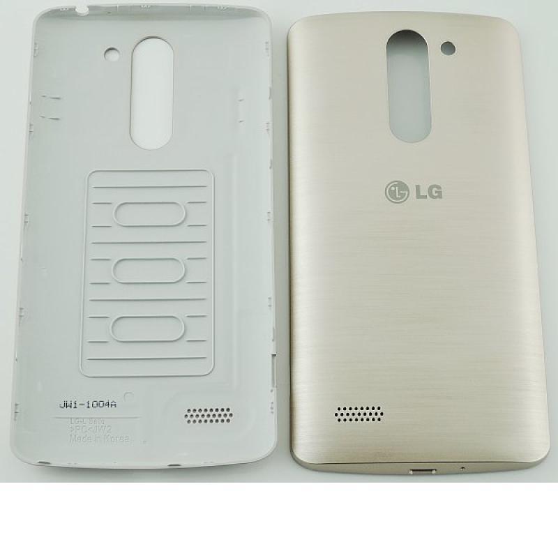 Repuesto Carcasa Trasera Tapa de Bateria para LG L Bello D331 D335 - Oro