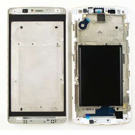 Repuesto Carcasa Marco Frontal para LG G3 Mini D722 - Blanco