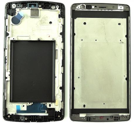 Repuesto Carcasa Marco Frontal para LG G3 Mini D722 - Negro