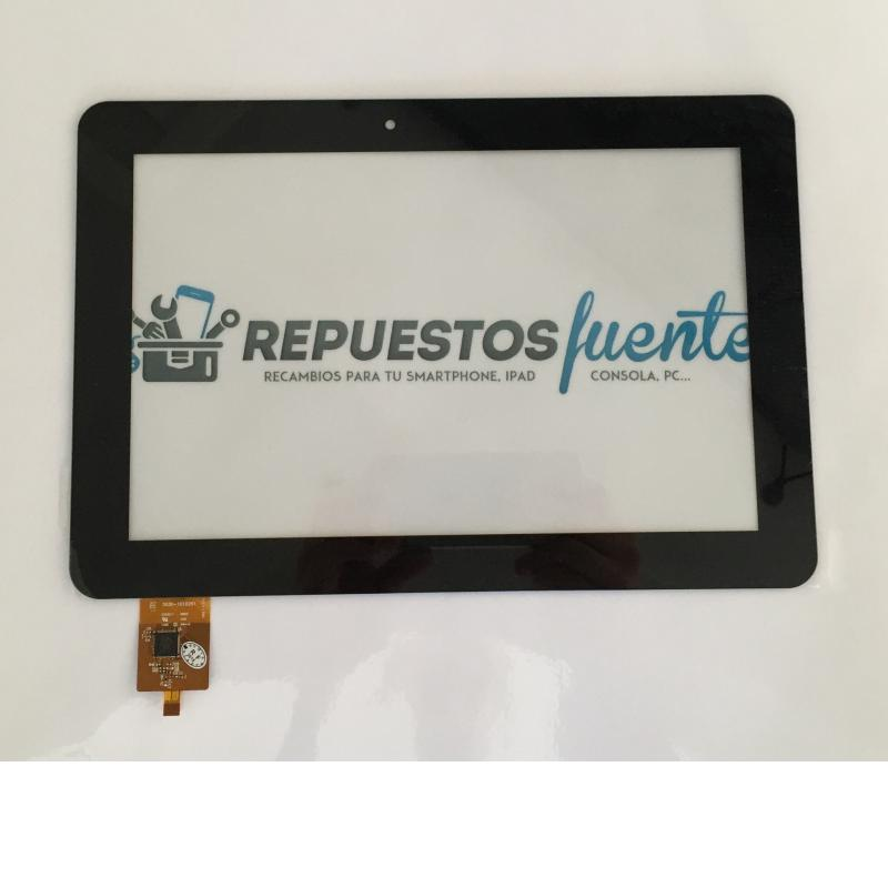 Pantalla Tactil Universal para Tablet Hannspree Hannspad SN1AT71W / HSG1279 de 10.1 Pulgadas - Negra