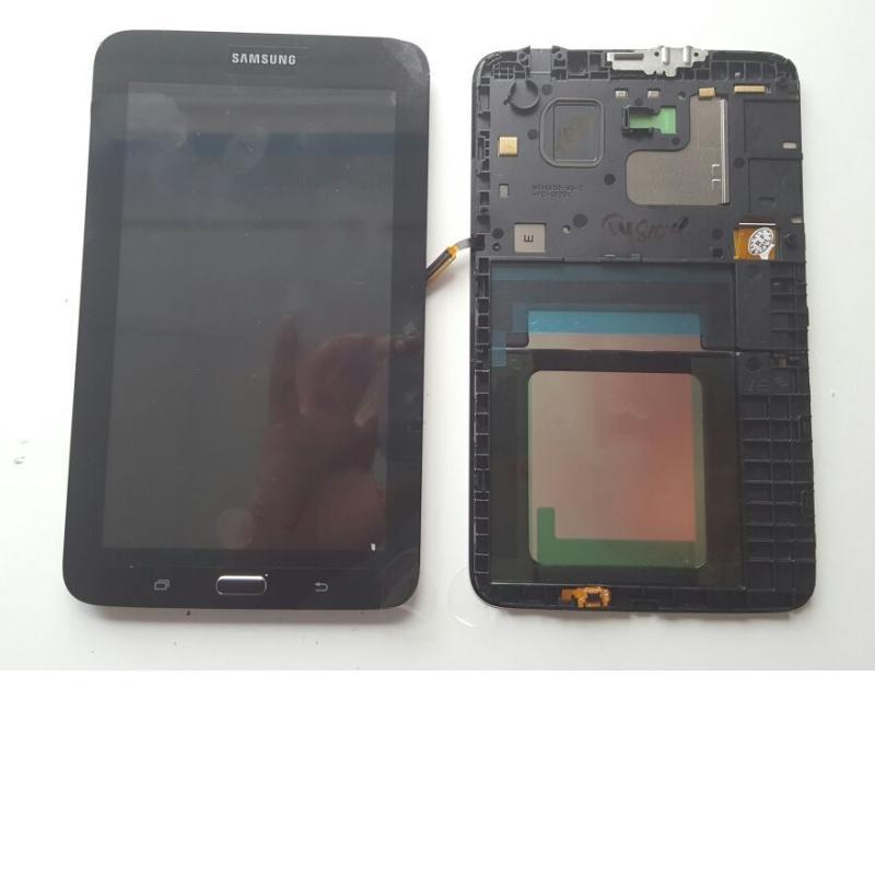 Pantalla Lcd + Tactil Con Marco Original Samsung Galaxy TAB 3 Lite SM-T113 T113 - Negra