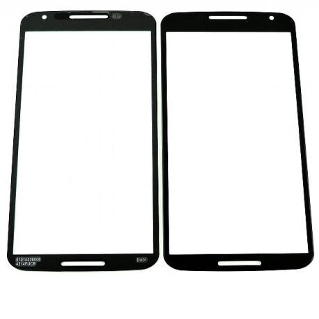 Repuesto Cristal Pantalla para Motorola Google Nexus 6 - Negro