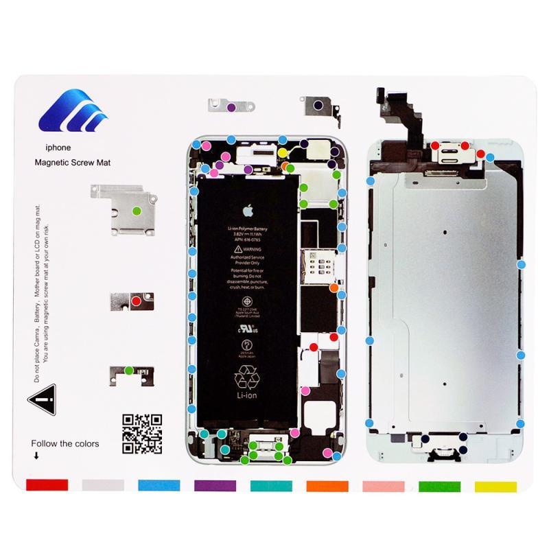 Alfombra Manta Magnetica para Reparaciones iphone 5s