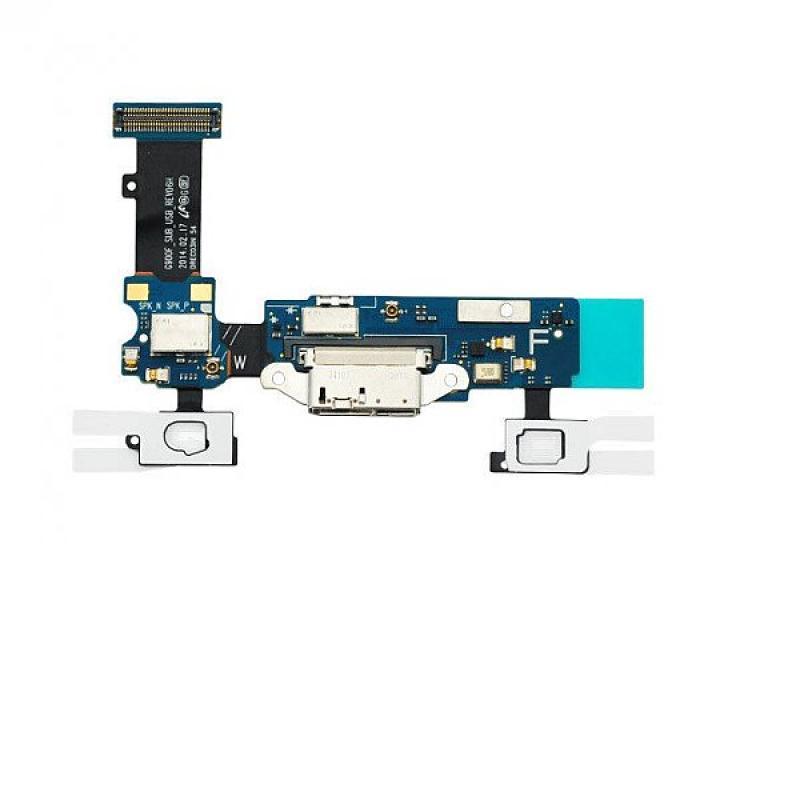 Flex de Conector de Carga Micro USB + Microfono Original Samsung S5 SM-G900F, SM-G901F