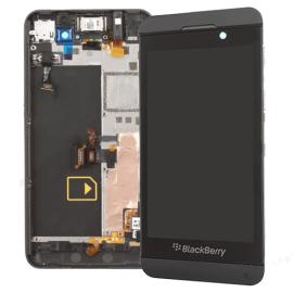 Pantalla Lcd Display + Tactil con Marco Blackberry Z10 4G Negro