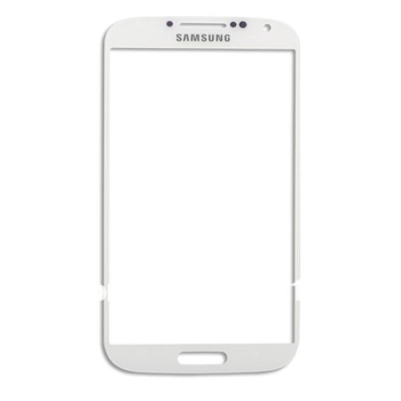 Pantalla de Cristal Gorilla Glass para Samsung Galaxy S4 i9500, i9505 - Blanca
