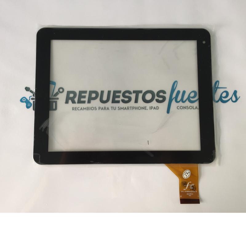 Repuesto de Pantalla Tactil para Tablet China FPC-TP080041(833)-01 de 8 Pulgadas - Negra