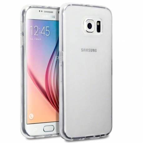 Funda de Silicona para Samsung Galaxy S6 Edge SM-G925 - Transparente