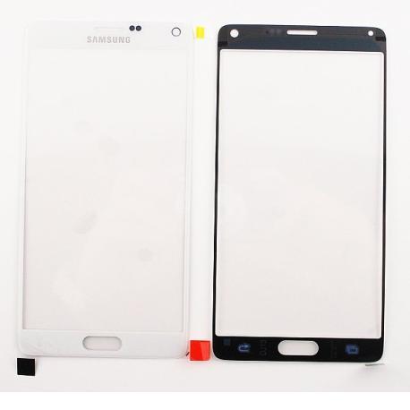 Ventana Cristal Tactil Samsung Galaxy Note 4 N910F Blanca