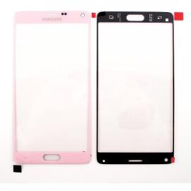 Ventana Cristal Tactil Samsung Galaxy Note 4 N910F Rosa