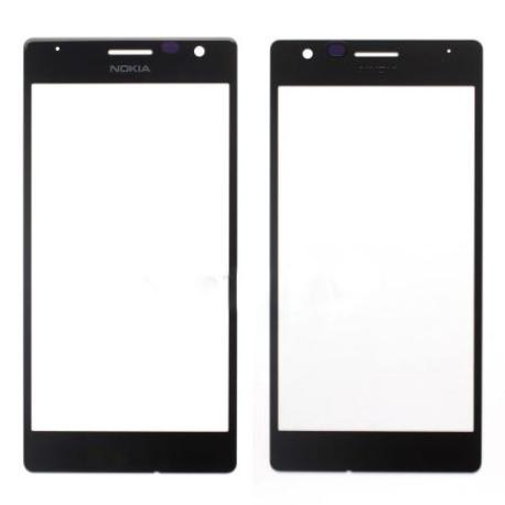 Repuesto Pantalla Ventana de Cristal para Nokia Lumia 730 y 735 - Negro