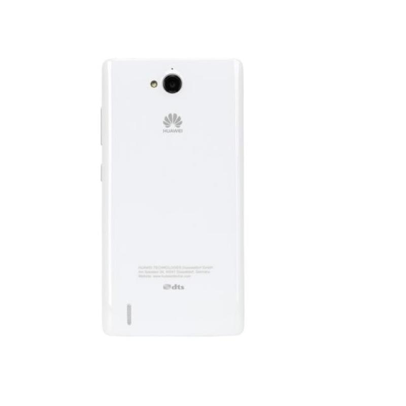 Carcasa Tapa Trasera Original Huawei G740 Orange Yumo Blanca